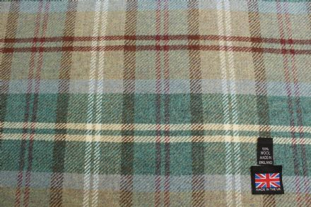 Shetland Tweed Plaid Fabric BZ90